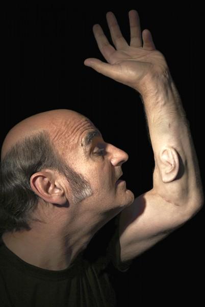 ear on arm  u2013 sensory studies